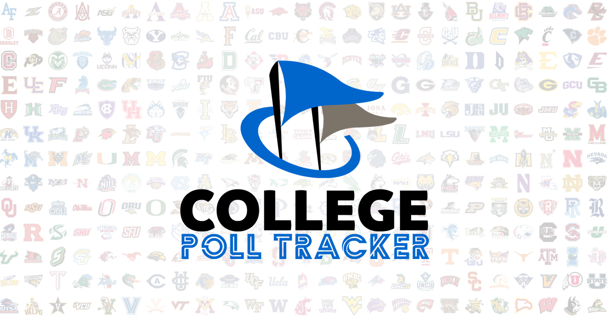 college poll tracker breaking down college polls every week of